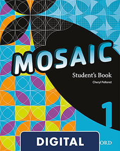 Mosaic 1 Digital Student's Book 2020