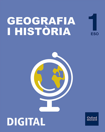 Inicia Digital - Geografia i Història 1r ESO Llicència Alumne (Comunitat Valenciana - Valencià)