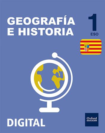 Inicia Digital - Geografía e Historia 1.º ESO. Licencia alumno (Aragón)