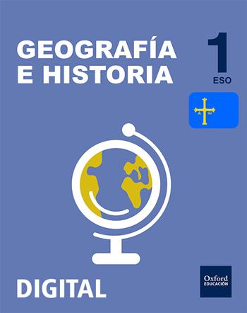 Inicia Digital - Geografía e Historia 1.º ESO. Licencia alumno (Asturias)