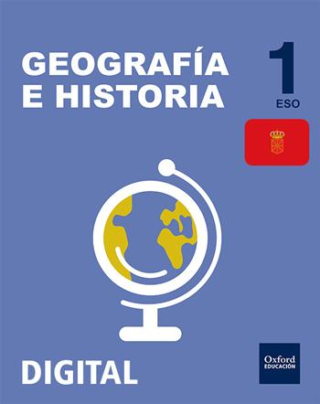 Inicia Digital - Geografía e Historia 1.º ESO. Licencia alumno (Navarra)
