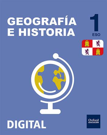 Inicia Digital - Geografía e Historia 1.º ESO. Licencia alumno (Castilla y León)