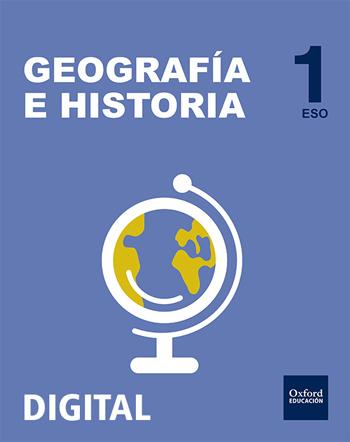 Inicia Digital - Geografía e Historia 1.º ESO. Licencia alumno
