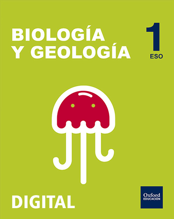 Inicia Digital - Biología y Geología 1.º ESO serie Nácar. Licencia alumno