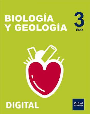 Inicia Digital - Biología y Geología 3.º ESO serie Nácar. Licencia alumno