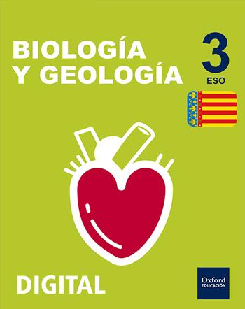 Inicia Digital - Biología y Geología 3.º ESO serie Arce. Licencia alumno (Comunitat Valenciana)