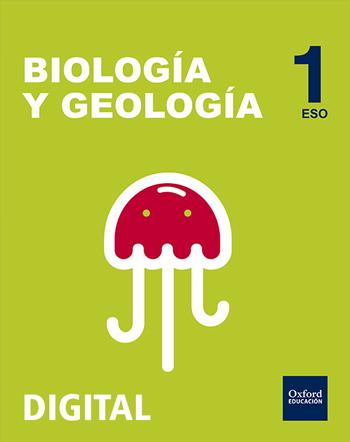 Inicia Digital - Biología y Geología 1.º ESO serie Liquen. Licencia alumno
