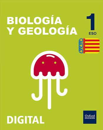 Inicia Digital - Biología y Geología 1.º ESO serie Arce. Licencia alumno (Comunitat Valenciana)