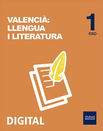 Inicia Digital - Valencià Llengua i Literatura 1r ESO Llicència Alumne