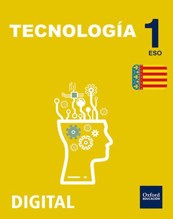 Inicia Digital - Tecnologia 1r ESO Llicència Alumne (Comunitat Valenciana - Valencià)
