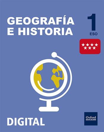Inicia Digital - Geografía e Historia 1.º ESO. Licencia alumno (Madrid)