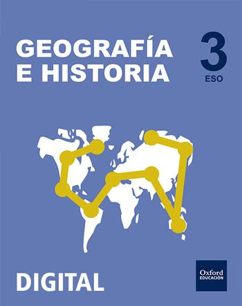 Inicia Digital - Geografía e Historia 3.º ESO. Licencia alumno