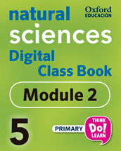 Think Do Learn Natural Sciences 5 Digital Class book, Module 2