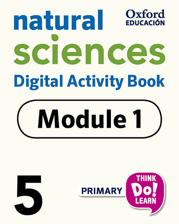 Think Do Learn Natural Sciences 5 Digital Activity book, Module 1