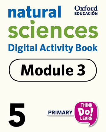 Think Do Learn Natural Sciences 5 Digital Activity book, Module 3