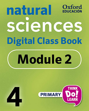 Think Do Learn Natural Sciences 4 Digital Class book, Module 2