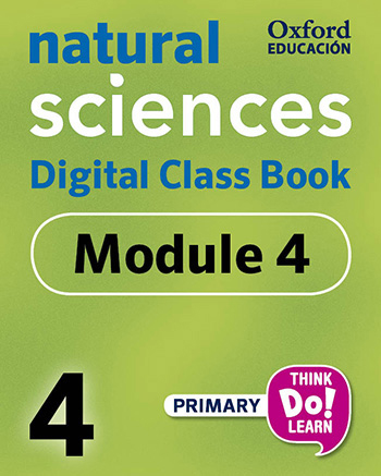 Think Do Learn Natural Sciences 4 Digital Class book, Module 4