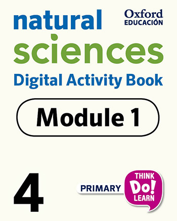 Think Do Learn Natural Sciences 4 Digital Activity book, Module 1