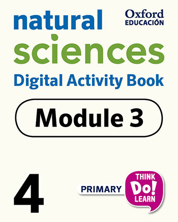 Think Do Learn Natural Sciences 4 Digital Activity book, Module 3