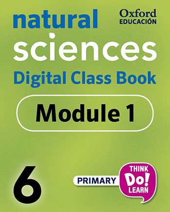 Think Do Learn Natural Sciences 6 Digital Class book, Module 1