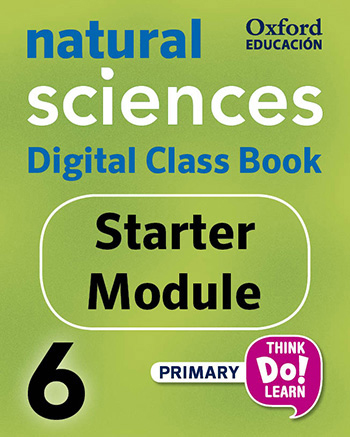 Think Do Learn Natural Sciences 6 Digital Class book, Starter Module Amber Edition