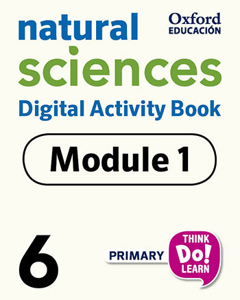 Think Do Learn Natural Sciences 6 Digital Activity book, Module 1