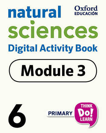 Think Do Learn Natural Sciences 6 Digital Activity book, Module 3