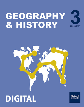 Inicia Digital - Geography & History 3.º ESO. Student's License