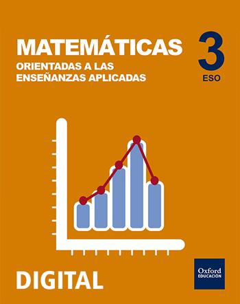 Inicia Digital - Matemáticas (Orientadas a las Enseñanzas aplicadas) 3.º ESO. Licencia alumno