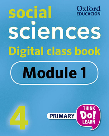 Think Do Learn Social Sciences 4 Digital Class book, Module 1